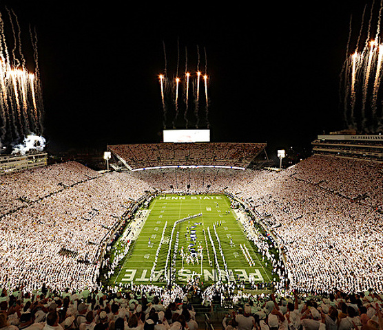 Penn State's Beaver Stadium Advantage: 16-Win Home Streak Ranks No. 3