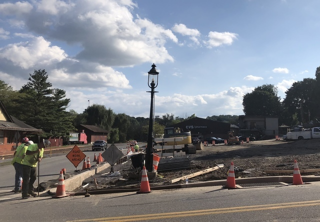 Bellefonte Continues Parking Lot Upgrades