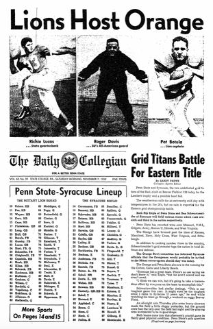 Penn State Football: It Is A Piece Of Beaver Stadium History As Top 10 Nittany Lions Host Top 10 Buckeyes