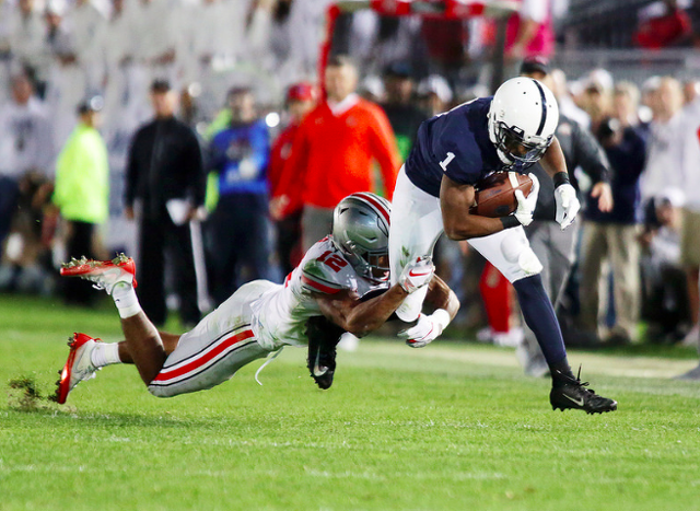 Michigan State stuns Penn State with late touchdown