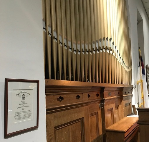 Boalsburg Church to Celebrate Pipe Organ's 150th Anniversary