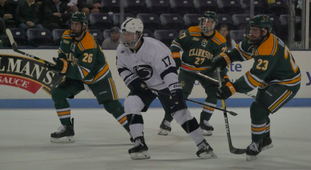 Penn State Hockey: No. 16 Nittany Lions Hold Off No. 17 Clarkson 4-3 To Open Season