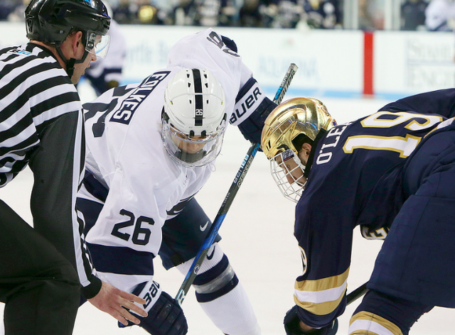 New Ice Is By Far Best >> State College Pa Penn State Hockey Approaching 100 Games At