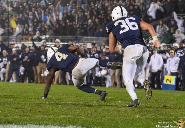 Penn State Football: Nittany Lions Come Back, Hang On to Beat Iowa