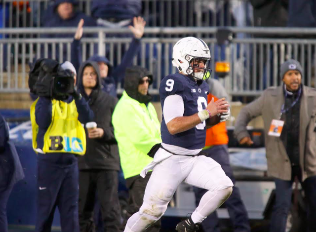 Penn State Football: McSorley's Father Delivers Simple Message As Trace Faced Injury Scare