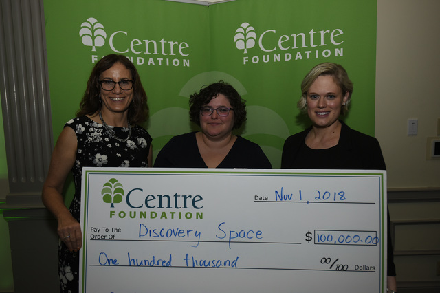 Discovery Space Wins $100,000 Centre Inspires Grant to Create Community Workshop