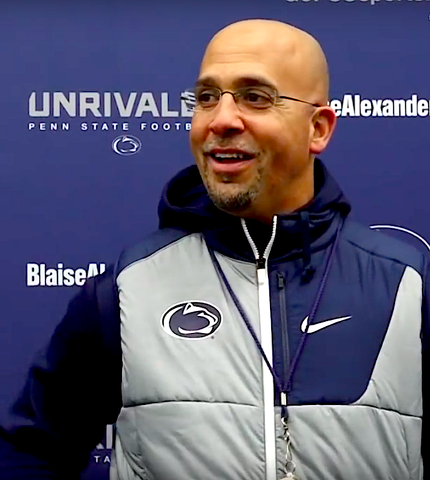 Penn State: What Happened to James Franklin's Rutgers, Rutgers, Rutgers?