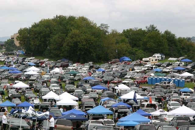 Grass Parking Lots to Be Closed for Penn State-Maryland Game