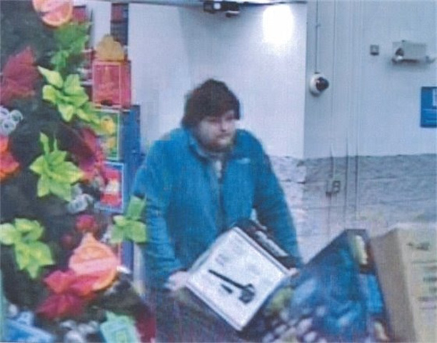 Police Looking for Suspect in Theft from Walmart