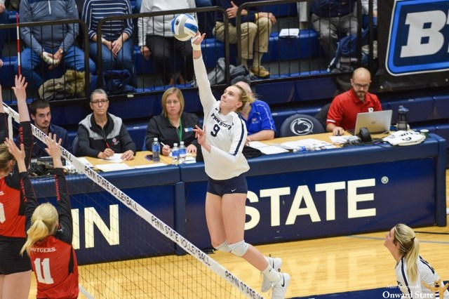 Youthful Penn State Women's Volleyball Team Set to Open NCAA Tournament Play