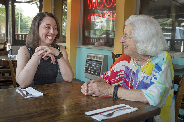 Lunch with Mimi: Christine Bishop, Soon-to-Be CEO of the Youth Service Bureau