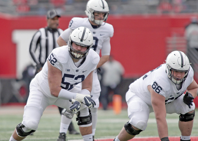 Penn State OT Ryan Bates Becomes 3rd Nittany Lion to Declare for 2019 NFL Draft