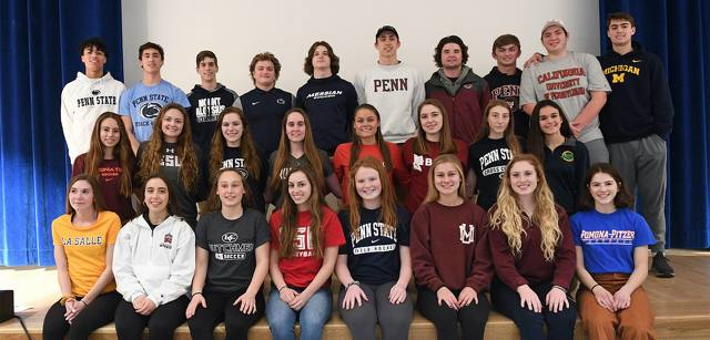 State College Athletes Excelling Together Since Youth Near End of High School Careers