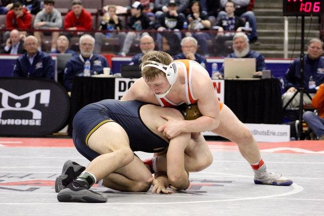 St. Joe's Takes Second, Nine Centre County Wrestlers Medal at PIAA Championships