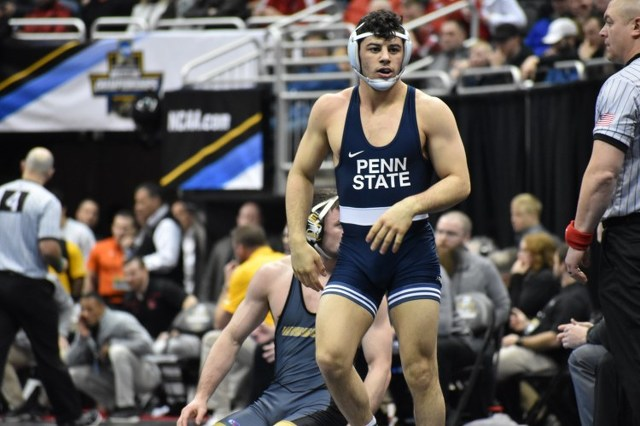 Penn State Wrestling Advances Six to Semifinals At NCAA Championships