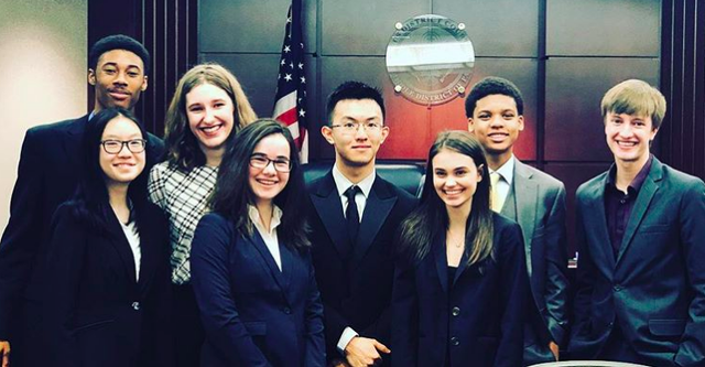 State High Team Advances to Mock Trial Championship