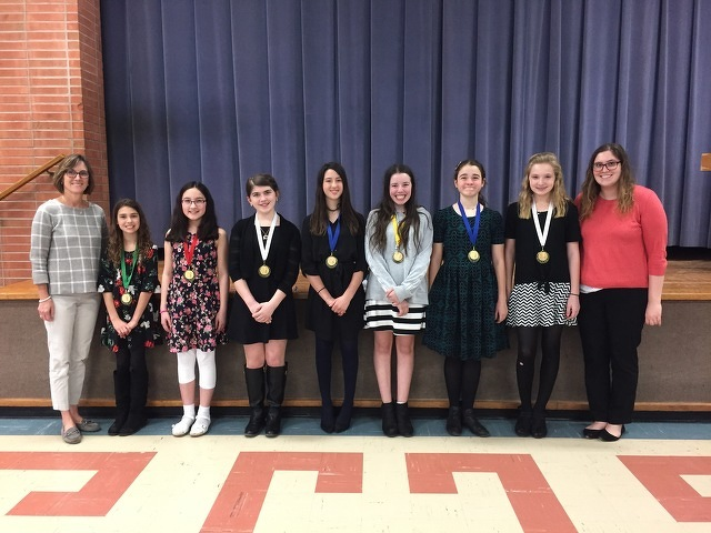 Our Lady of Victory Catholic School Takes Top Honors at Diocesan Forensics Competition