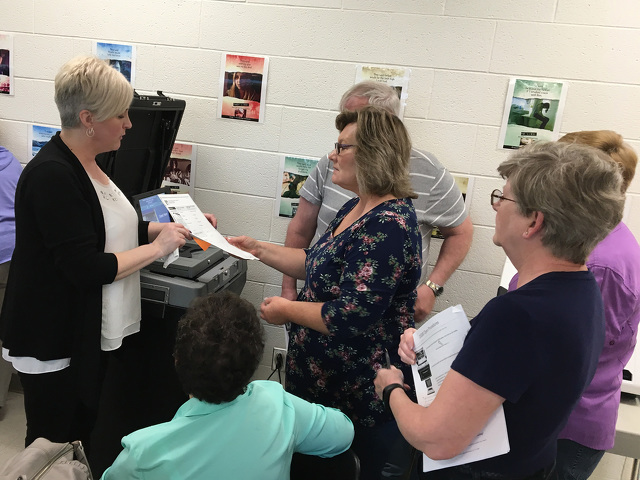 Centre County Poll Workers Trained on New Voting Systems