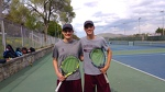 Lloyd and Cagle team up to win D-6 doubles championship