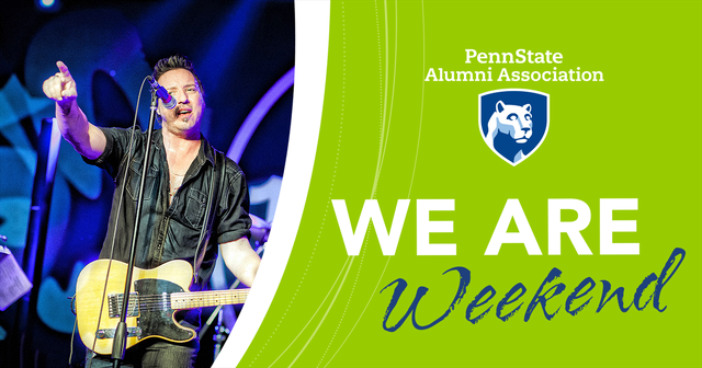 Free Concert by Springsteen Tribute Band Highlights Penn State Alumni Association's We Are Weekend