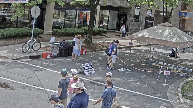 Check in on Arts Fest with Downtown Webcam