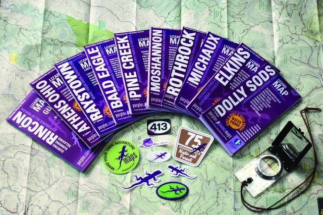 With Boots-on-the-Ground Detail, Purple Lizard Maps Have Become a Staple for Outdoors Enthusiasts