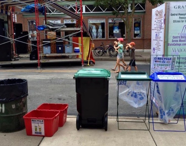 Area Festivals Yield Big Recycling Numbers