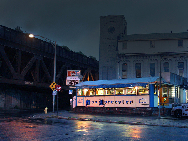 Local Photographer's New Book Explores the Vanishing American Diner