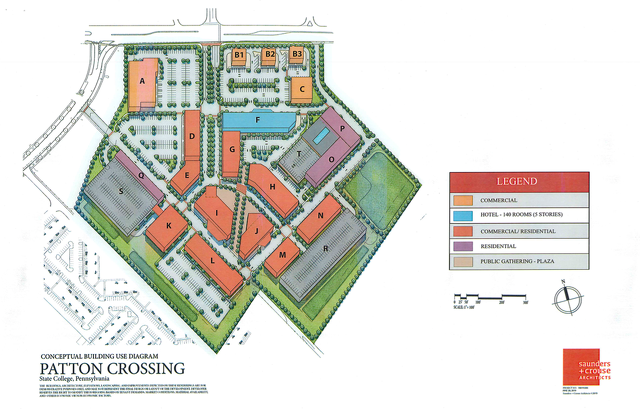 Patton Crossing Master Plan Headed to Township Supervisors
