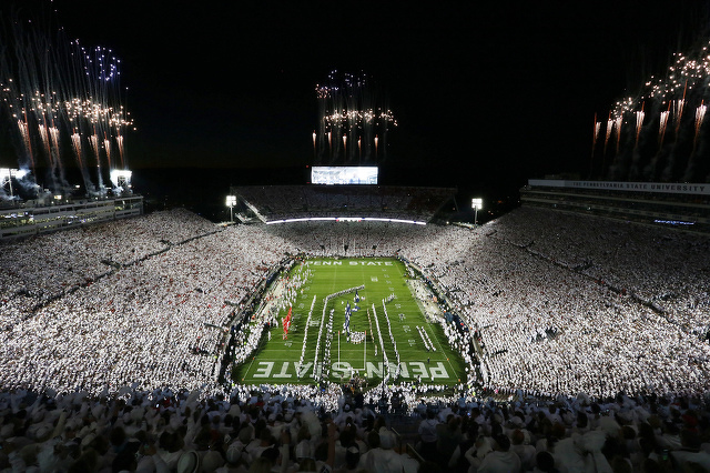 Phone Charging Stations, Team Arrival Improvements Among Beaver Stadium Updates for 2019