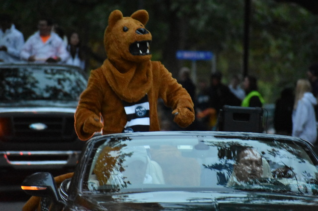 Traffic and Parking Changes in Store for Penn State Homecoming Parade