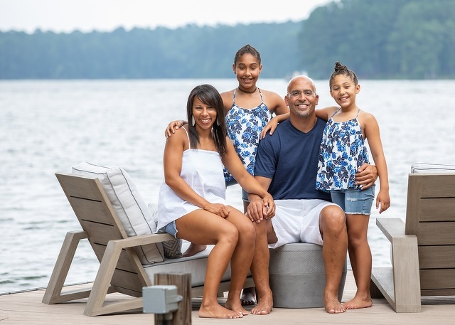 Football and Community Are Family Affairs for Renaissance Fund Honoree James Franklin, His Wife, Fumi, and Their Daughters