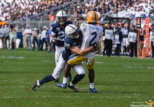 Ex-Track Star Dan Chisena Shining on Special Teams for Penn State Football