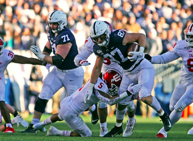 Penn State Football: Freiermuth Snubbed, Talks NFL Eligibility and Ohio State