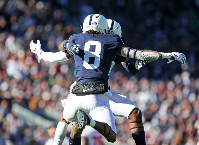 Penn State Football Checks In At No. 8 In College Football Playoff Rankings