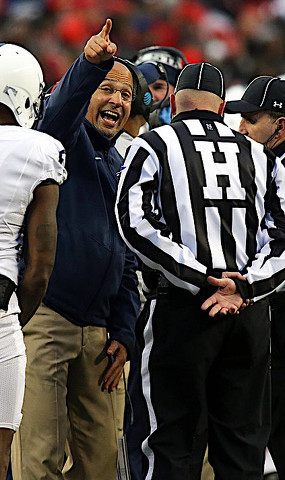 Penn State Football: To Be Frank(lin) With You About Facing a Juggernaut That is Ohio State