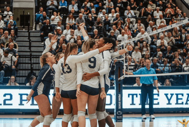 Penn State Women's Volleyball Sweeps Princeton in NCAA Tournament Opener