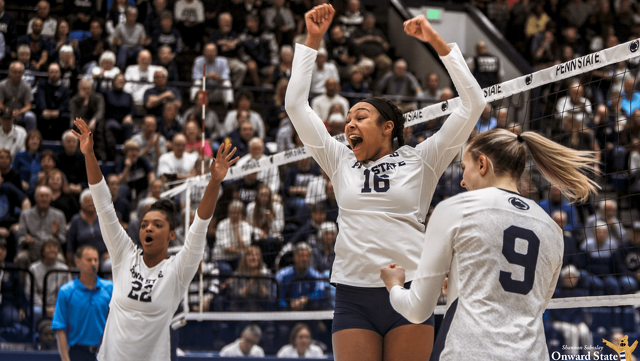 Penn State Women's Volleyball Ranked No. 7 in Final 2019 Poll