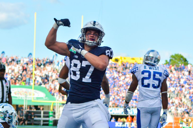 Penn State Football: No Concern for Nittany Lion Tight Ends Following New Hire