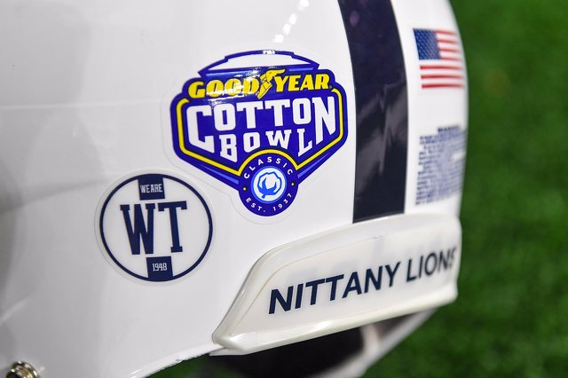 Penn State Football to Honor Wally Triplett, 1948 Cotton Bowl Team with Helmet Decals