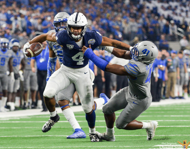 Journey Brown, Penn State Run All Over Memphis in Cotton Bowl