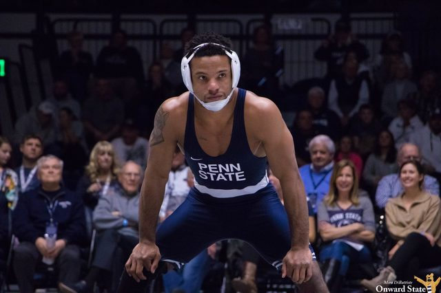 Penn State Wrestling Pulls Away for Big Road Win over Wisconsin