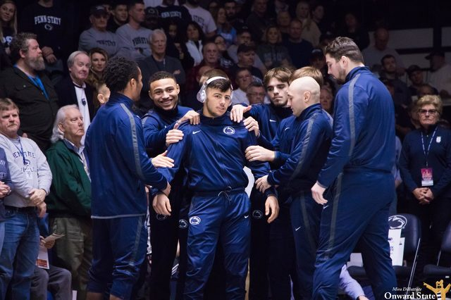 No. 2 Penn State Wrestling Knocks Off No. 3 Ohio State at Bryce Jordan Center