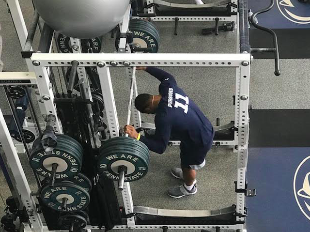 Penn State Football: For Galt The Next Step Is The Recovery, Not The Workout