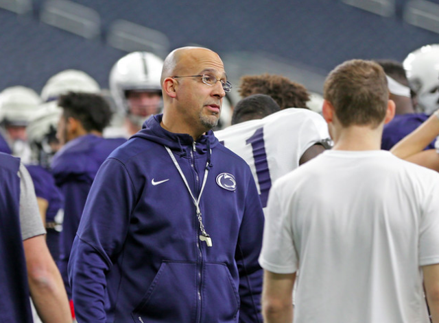 Penn State Football Postpones Spring Practice, No Decision Made For Blue White Game