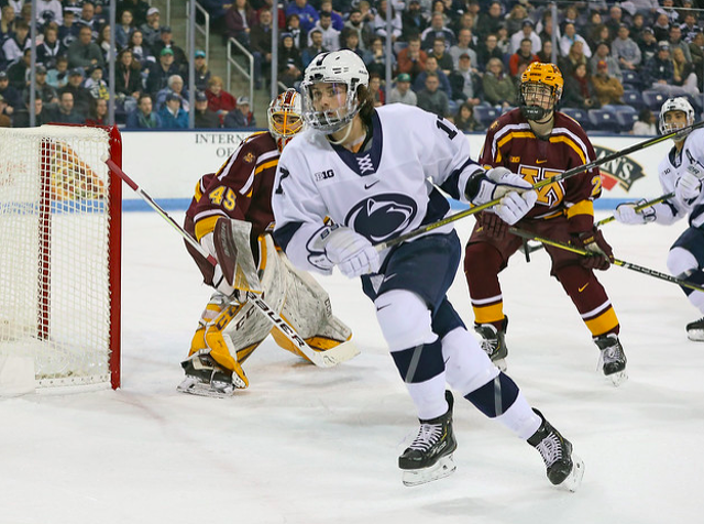 Penn State Hockey: Barratt Signs Deal With Chicago Blackhawks