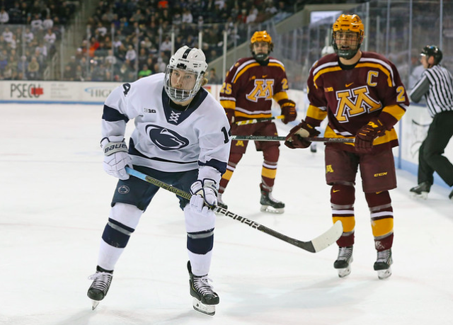 Penn State Hockey Earns First Ever All-American Honors with Hults and Sucese