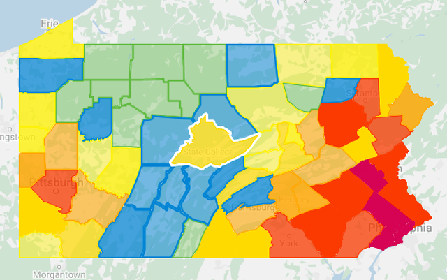 No New COVID-19 Cases in Centre County; Statewide Total Tops 31,000