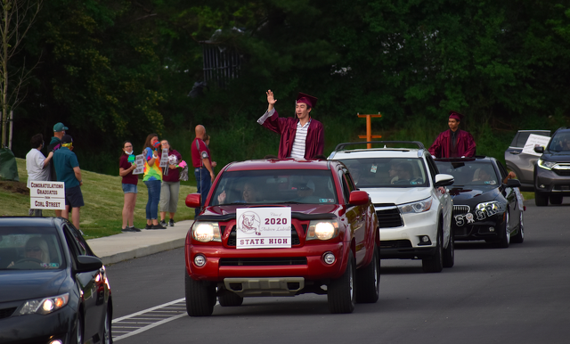 SCASD Celebrates Class of 2020 with Senior Send-Off Parade