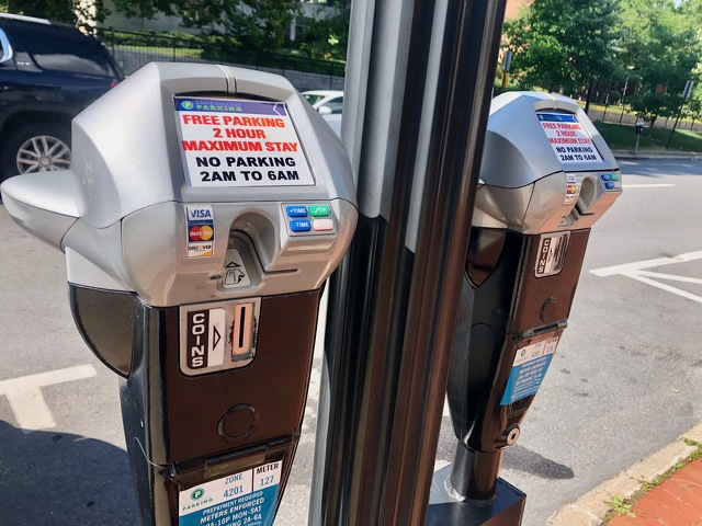 State College Extending Free Parking Downtown